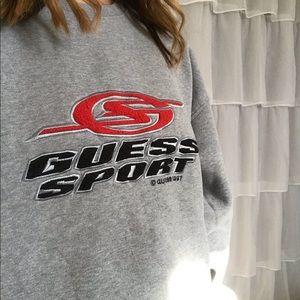 8ec53e95e0e5 Guess Shirts | Sold On Depop Vintage Sweatshirt | Poshmark